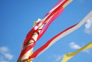 Prayer ribbons at Guilfest